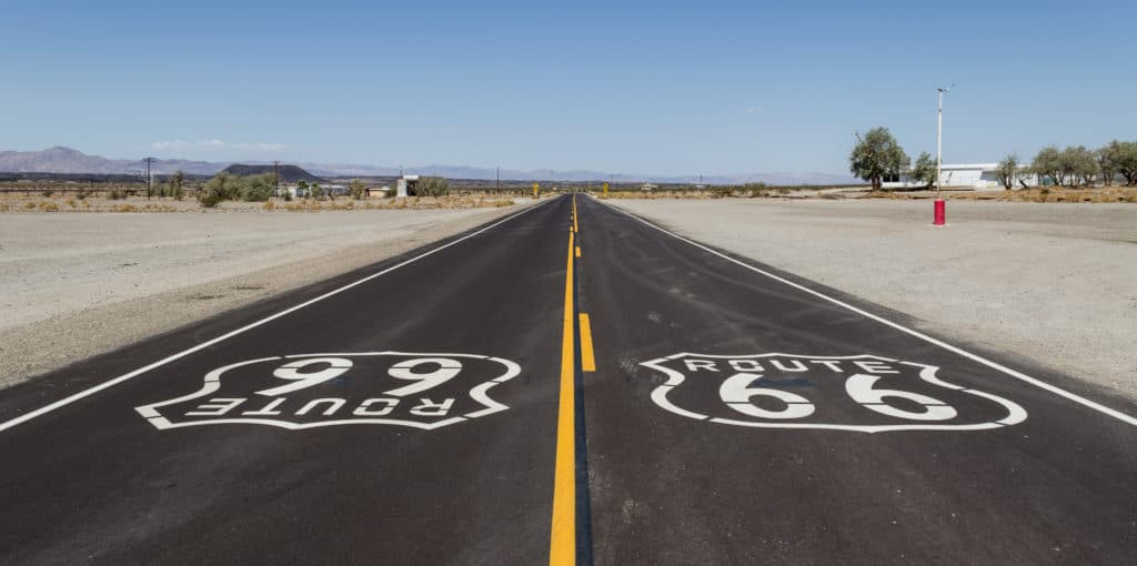Route 66 Is Getting A Small Solar Roadway