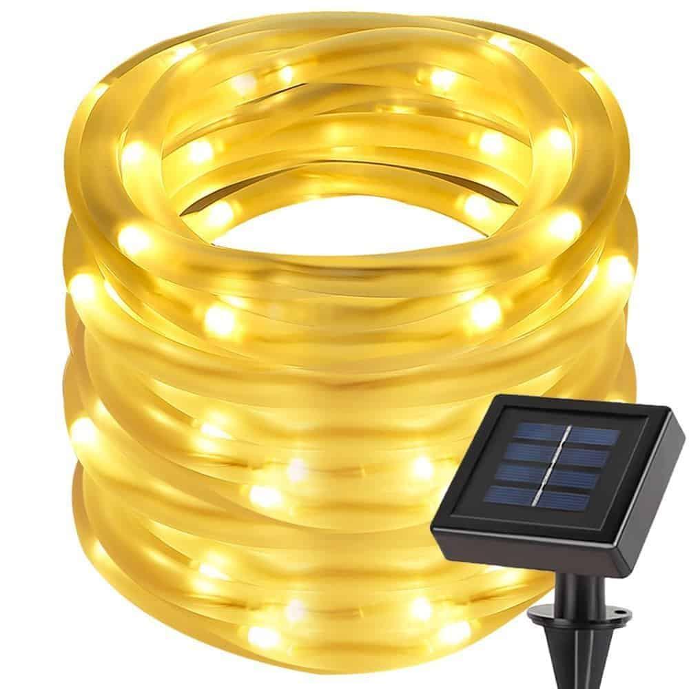 lighting ever solar rope lights best solar tech. Black Bedroom Furniture Sets. Home Design Ideas