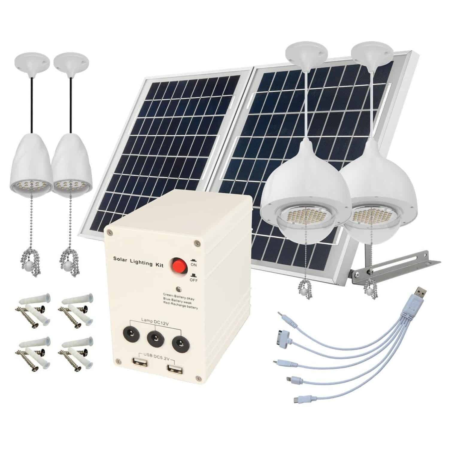 microsolar solar shed light kit best solar tech