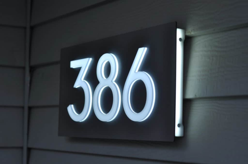 Best Solar House Numbers